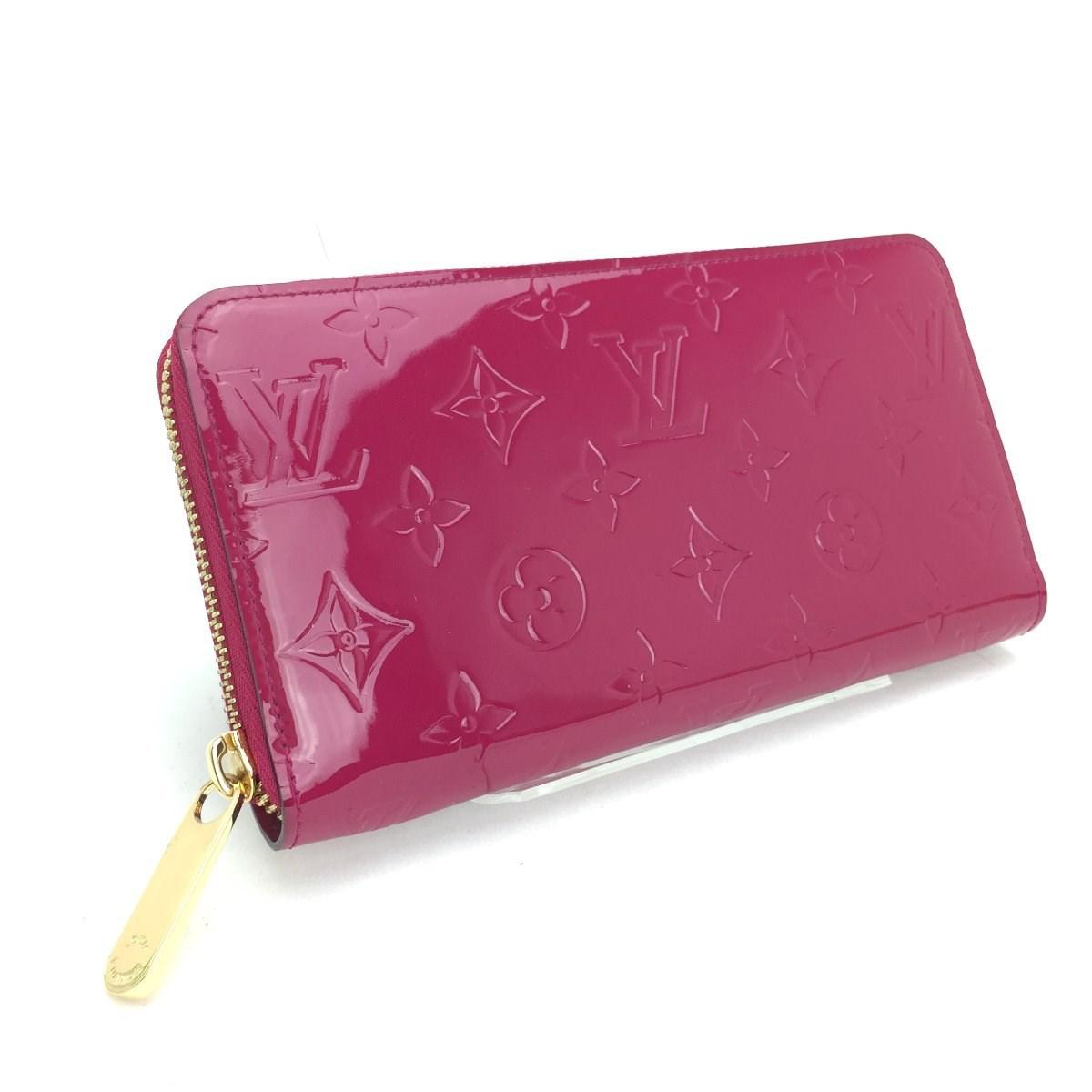 08a02fed807e Lyst - Louis Vuitton Long Wallet Long Wallet Zip Around Rose Andy ...