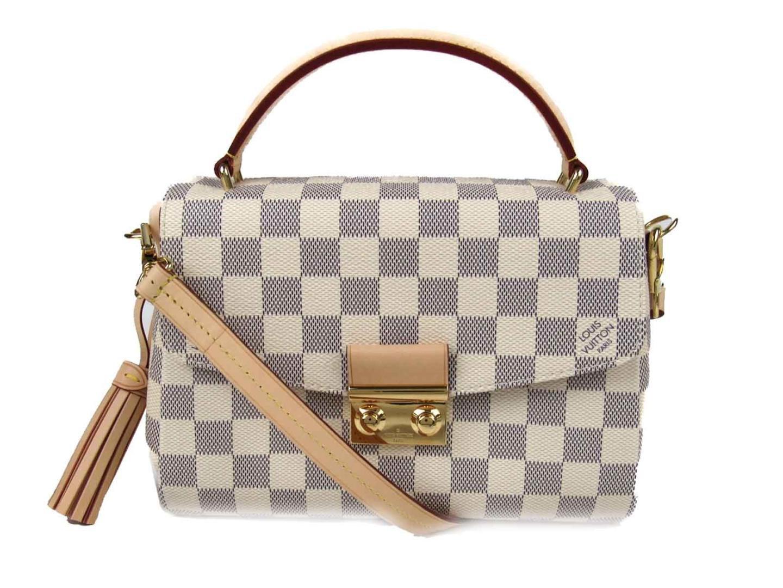 Lyst - Louis Vuitton Croisette 2way Shoulder Hand Bag N41581 Damier ... e643886b339e3