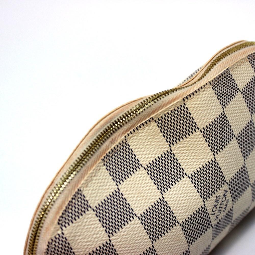 42a541886c45 Lyst - Louis Vuitton Damier-azur Pochette - Cosmetics Makeup Pouch ...