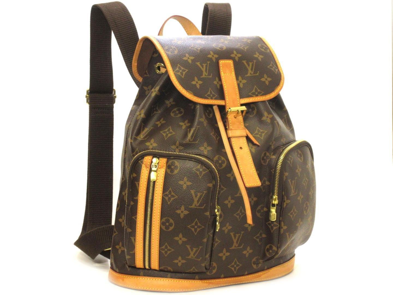 8398265bfc0b Lyst - Louis Vuitton Monogram Canvas Bosphore Backpack M40107 in Brown