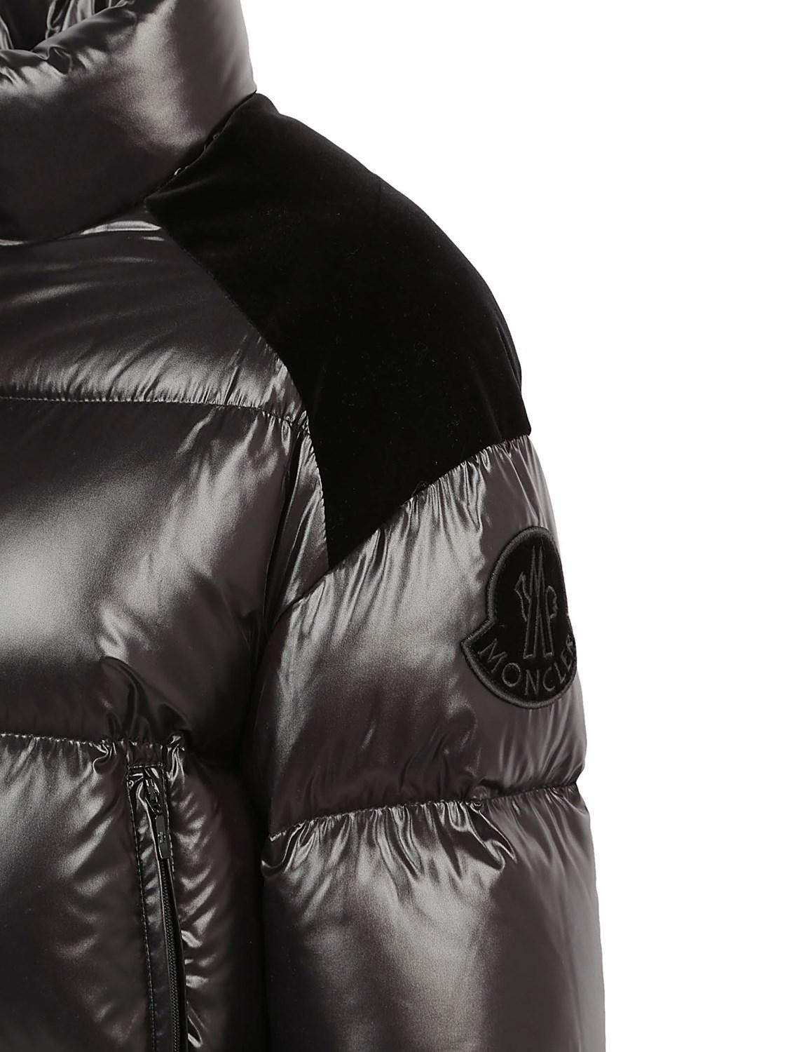 65c9ab52321 Moncler Chouette Down Jacket in Black - Lyst