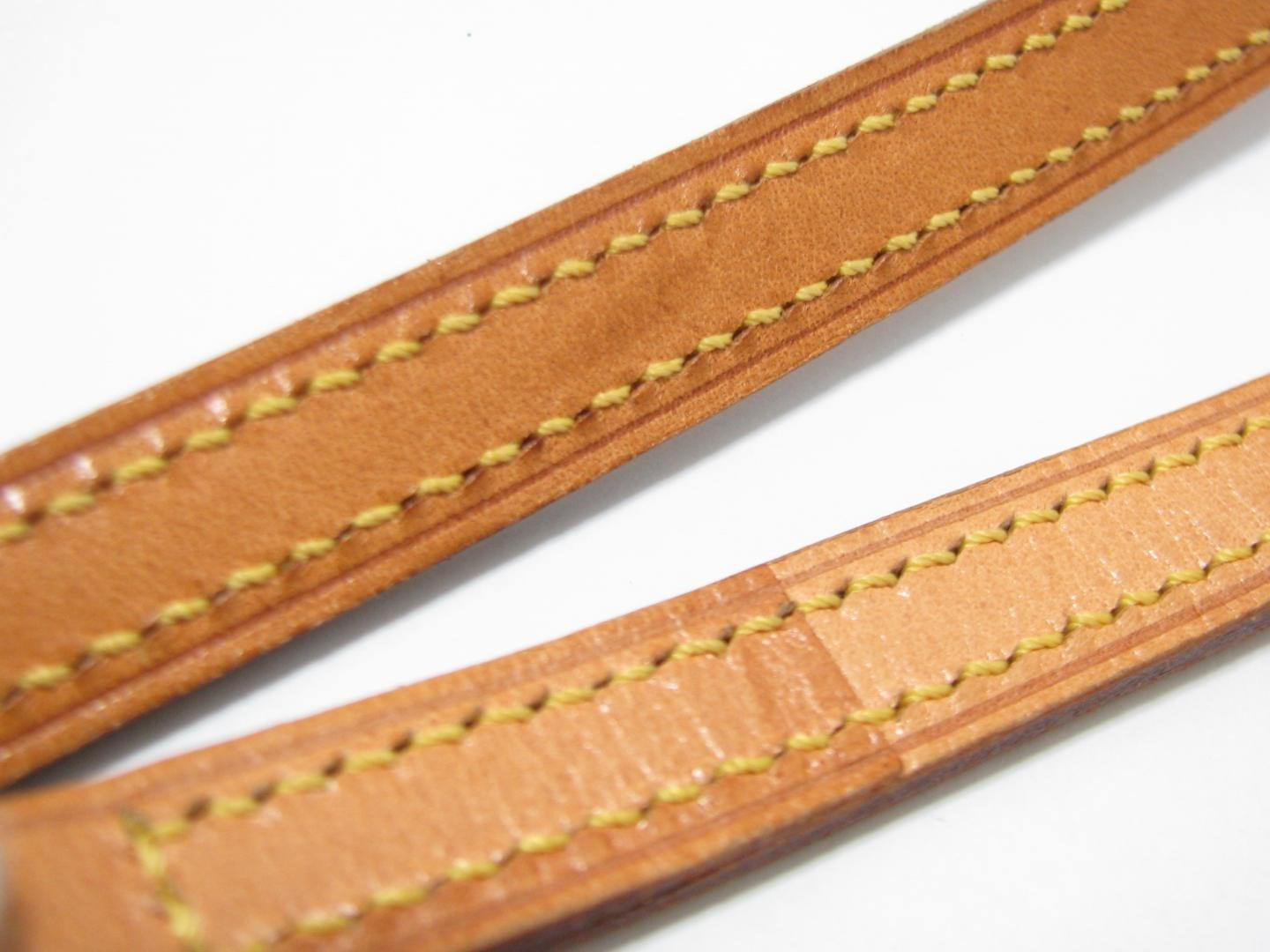 fed61ce10299 Lyst - Louis Vuitton Nume Leather Shoulder Strap Brown J00145 in Brown