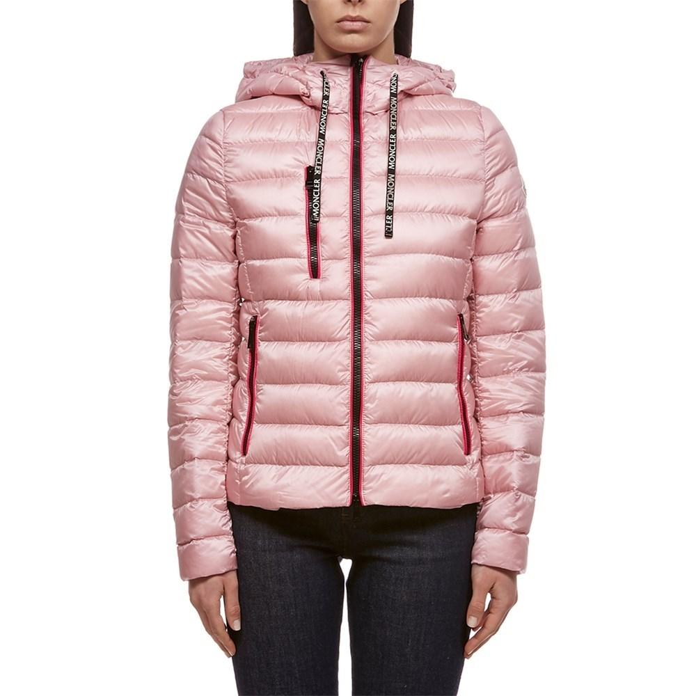 95582503 Lyst - Moncler Down Jacket Rosa in Pink