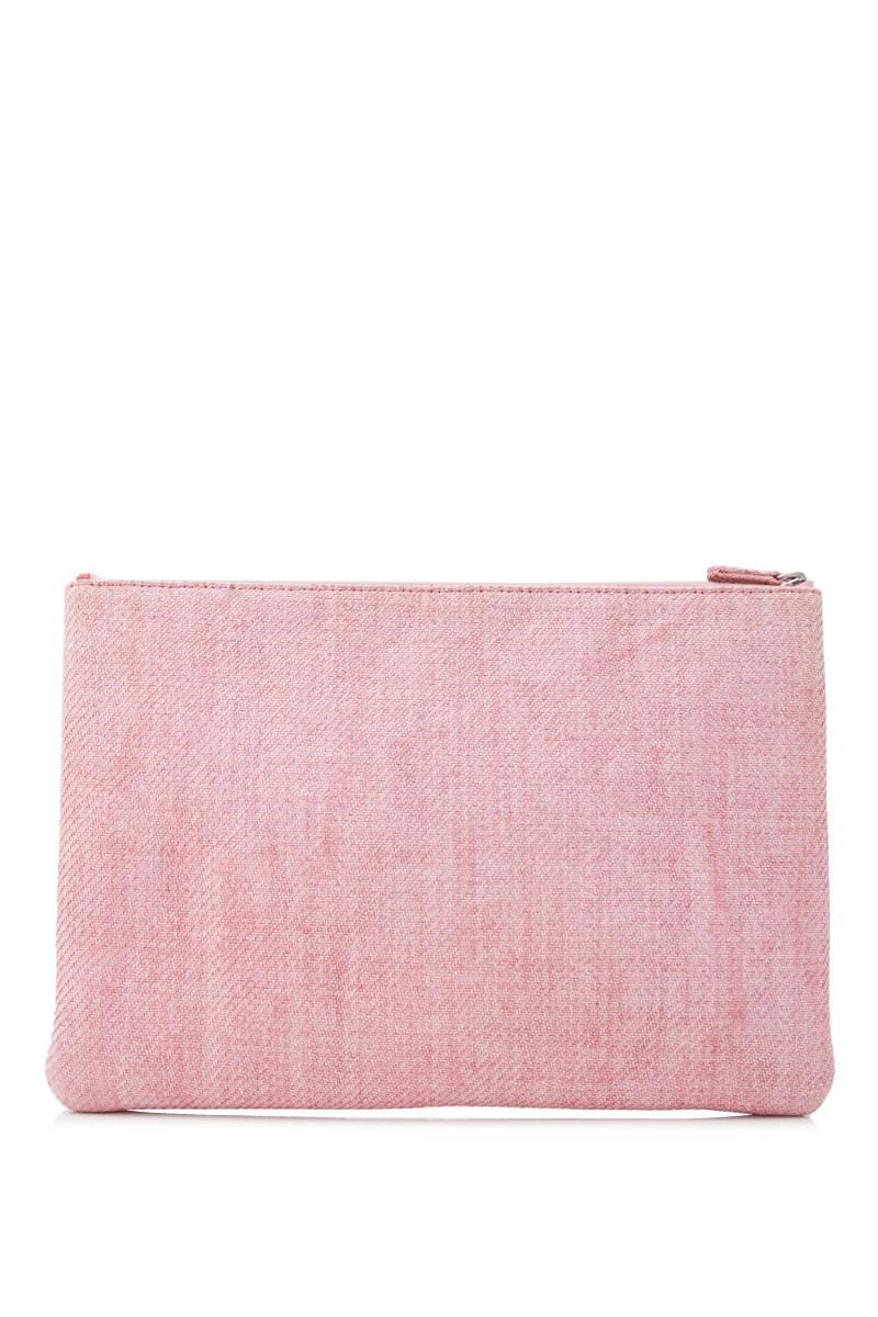 f0a8c195bfd1 Chanel Pre-owned 31 Rue Cambon Pouch in Pink - Lyst