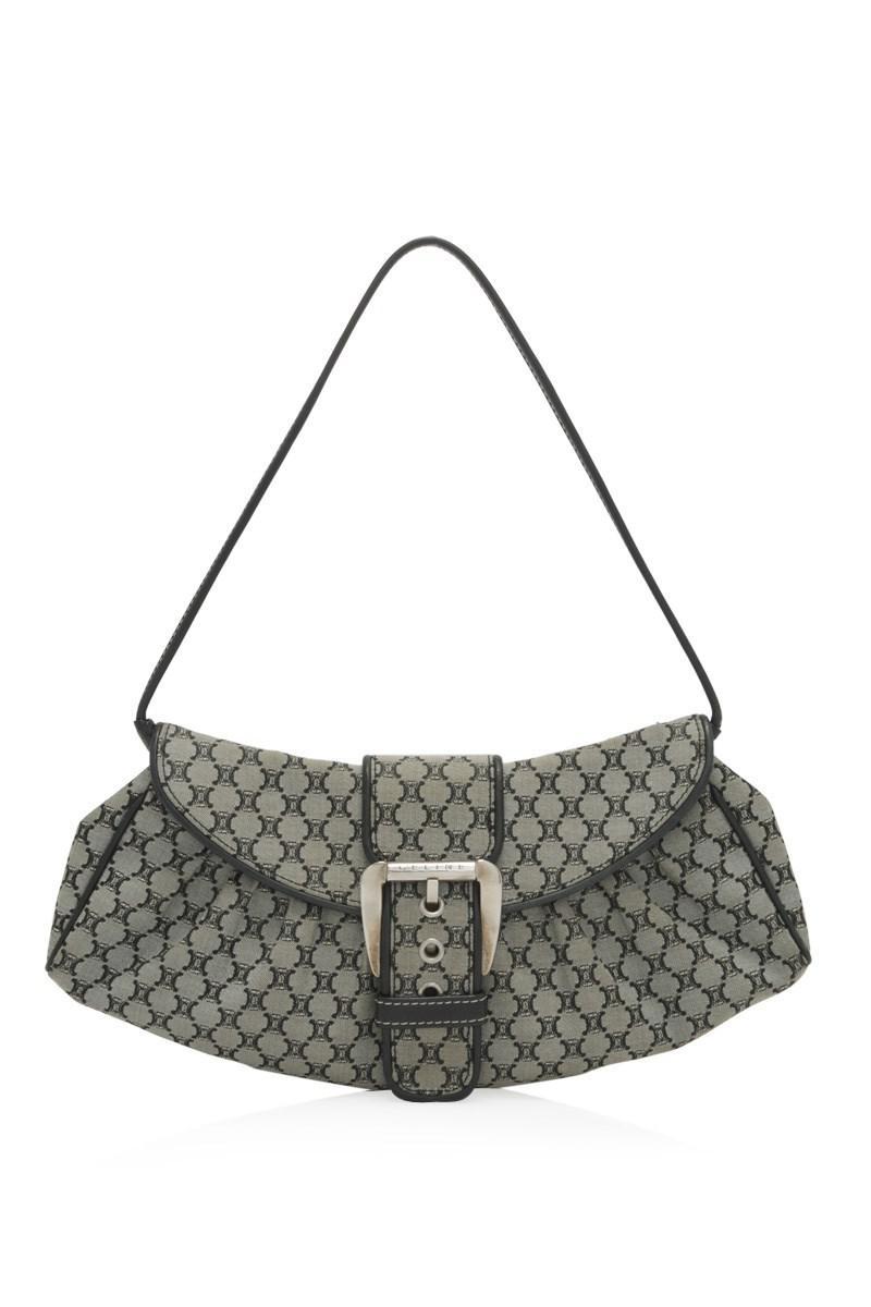 a425f50316 Lyst - Céline Pre-owned Céline Shoulder Bag in Natural