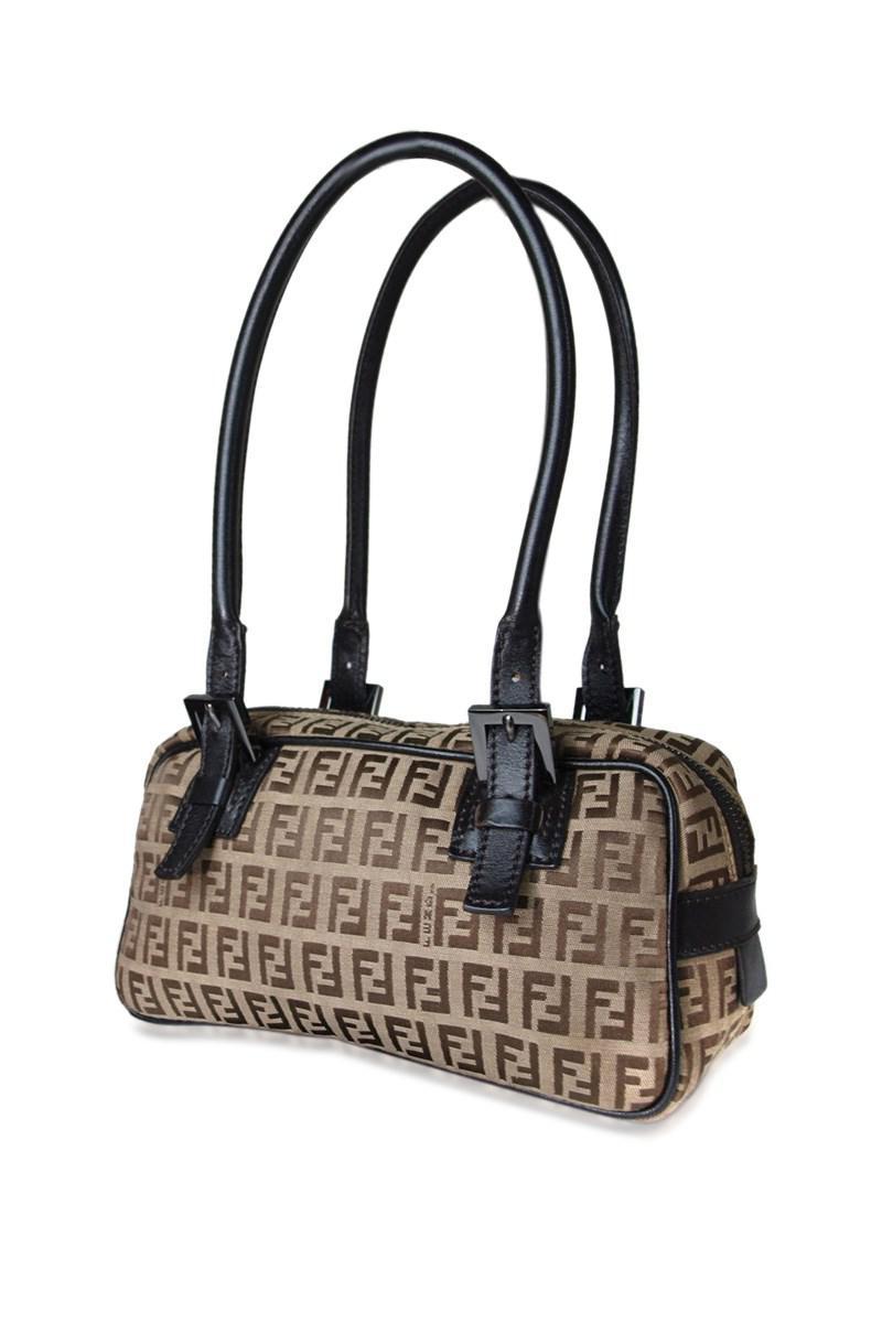 6df6c6028e0 fendi fendi zucca canvas leather browns mini shoulder bag reebonz reputable  site 0ea06 8f493