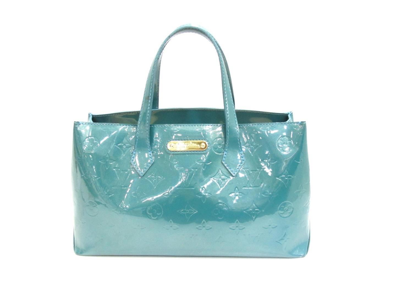 ede209719262 Lyst - Louis Vuitton Wilshire Pm Handbag Monogram Vernis Leather ...