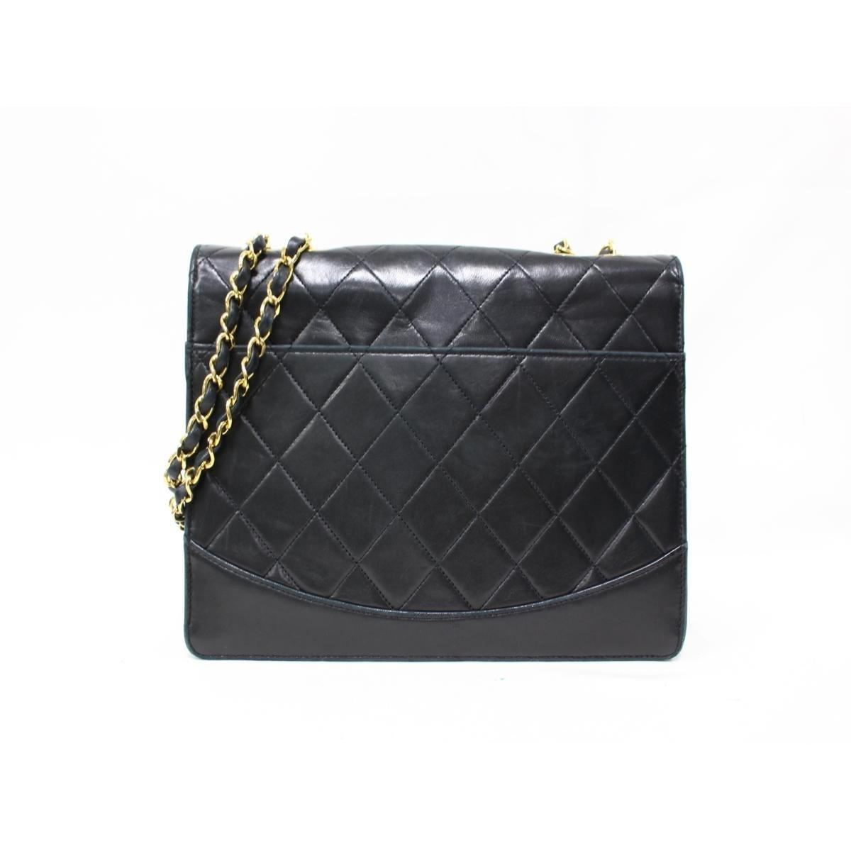 de40257d35a4c0 Lyst - Chanel Authentic Matelasse Chain Shoulder Bag Sheep Leather ...