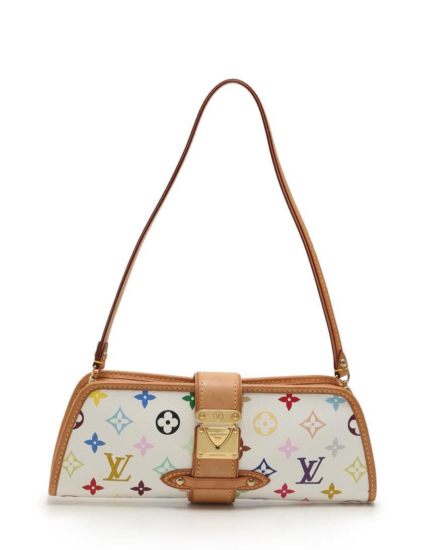 037977de3b52d Lyst - Louis Vuitton Shirley Shoulder Bag Monogram Multi-color White ...