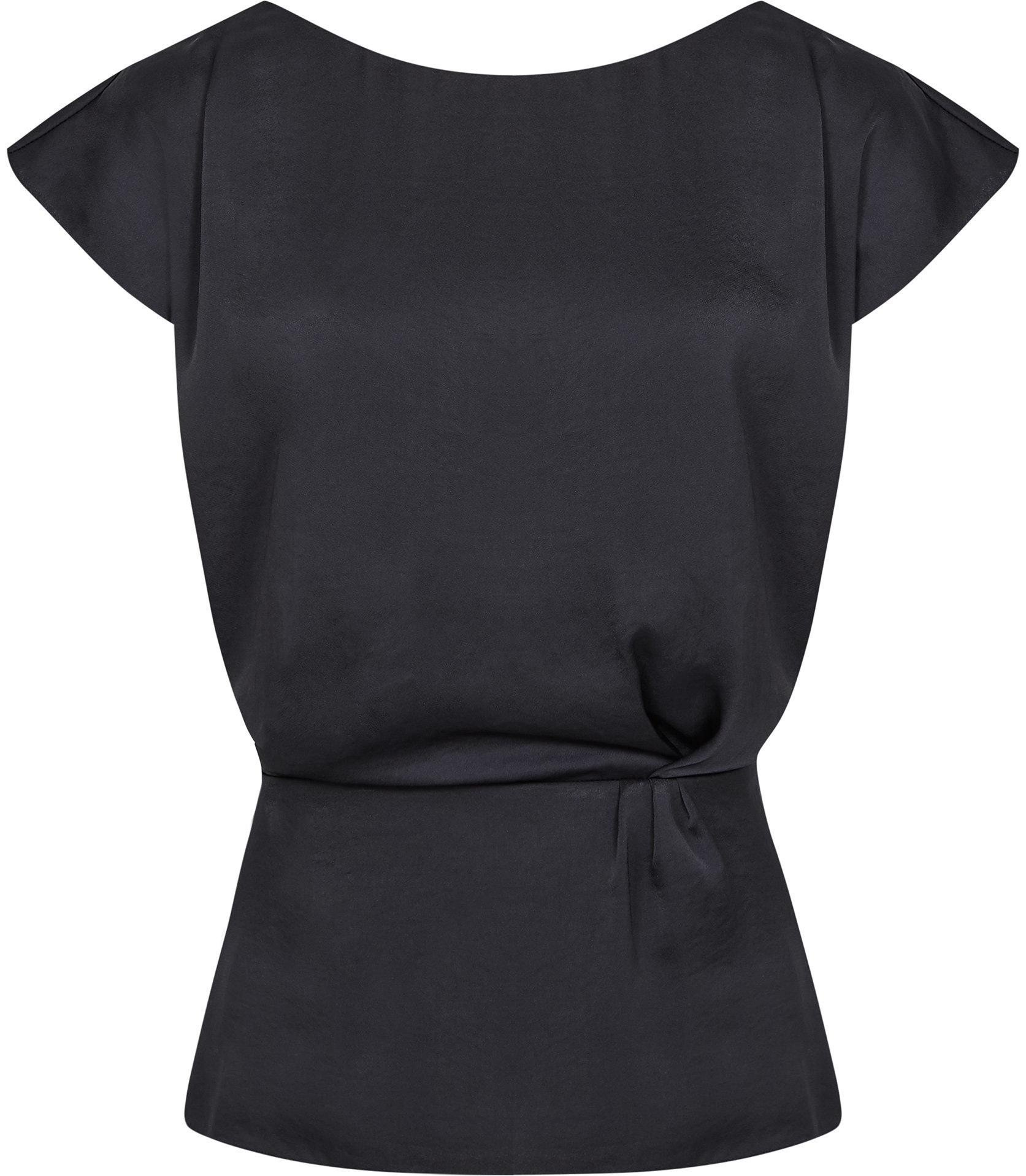 Top Dani Lyst Capped Blue Reiss Sleeve In CvxqwttZ