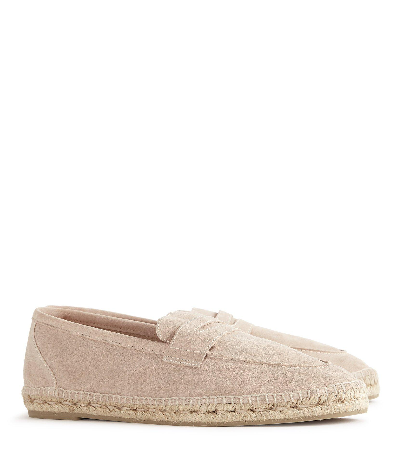 2a0d61ad75c Reiss - Natural Nacho - Suede Penny Espadrille for Men - Lyst. View  fullscreen