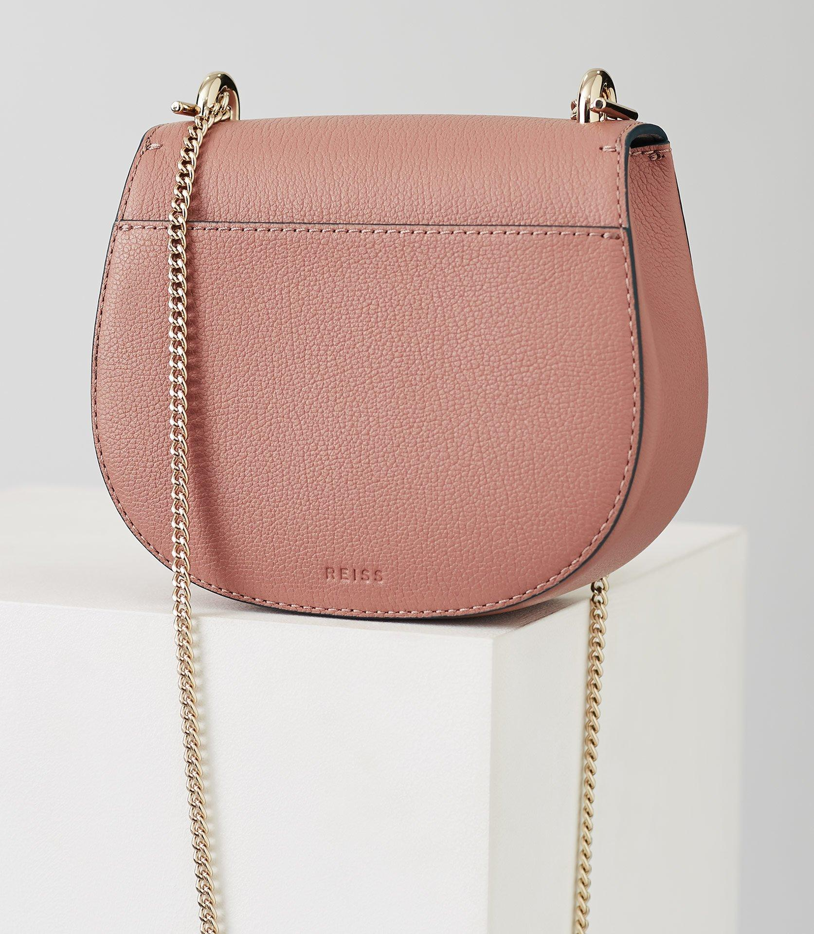 a5ecc58c9771 Reiss - Pink Maltby Mini - Mini Cross-body Bag - Lyst. View fullscreen