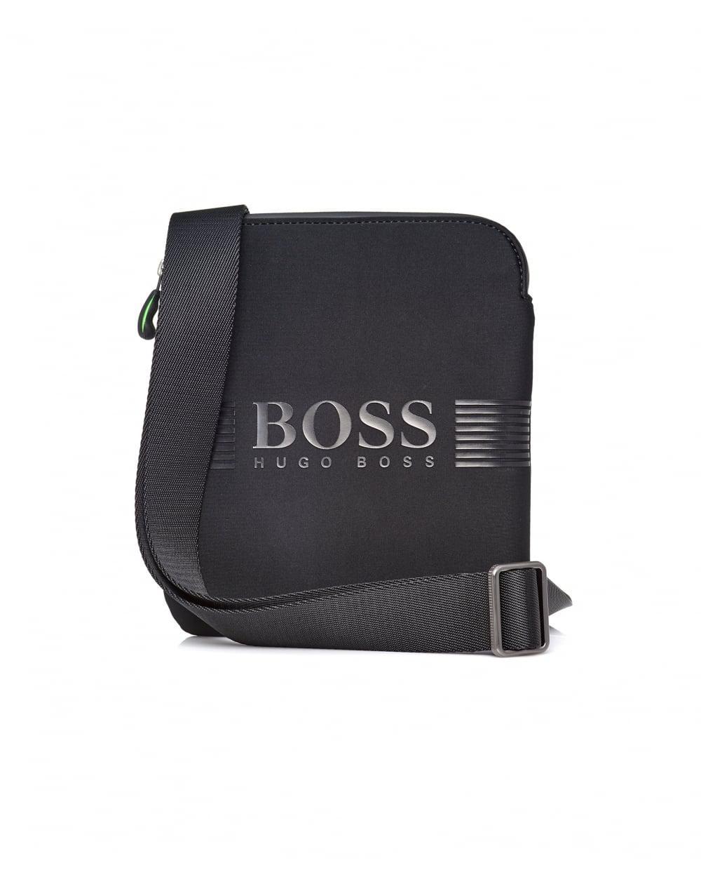 fc0d73d55e Lyst - BOSS Athleisure Pixel Nsenv Shoulder Stash Black Bag in Black ...