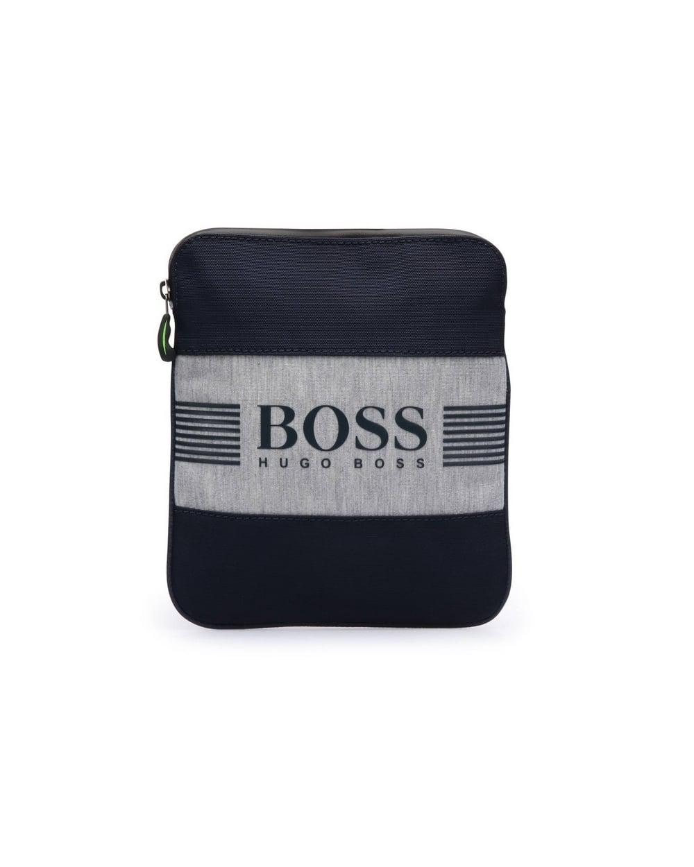 739848d4cdf1 Lyst - BOSS Pixel Js Zip Env Navy Blue Stash Bag in Blue for Men