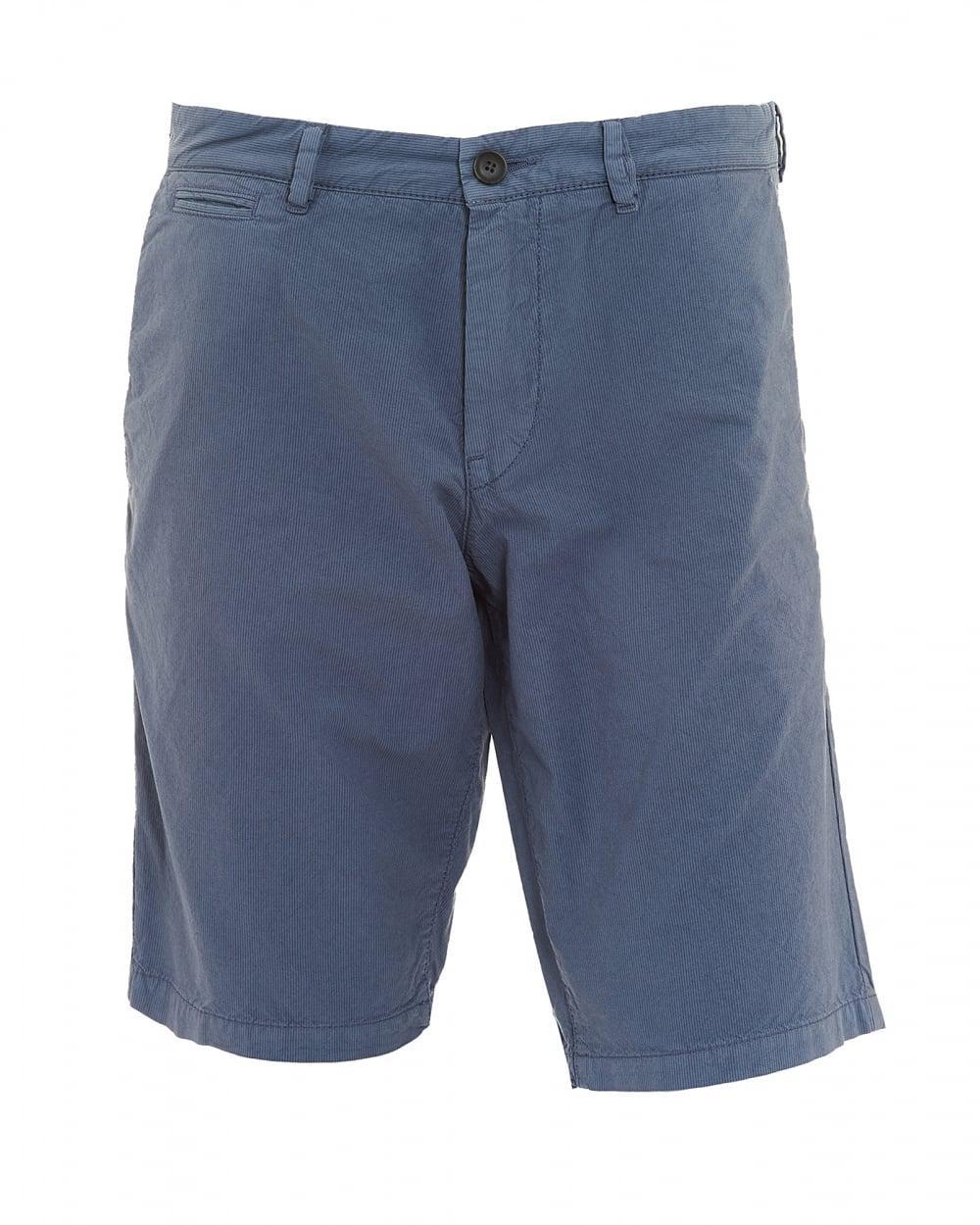 eb73f20c2 BOSS Slim4-shorts-d-eosp Stripe Cotton Grey Shorts in Gray for Men ...