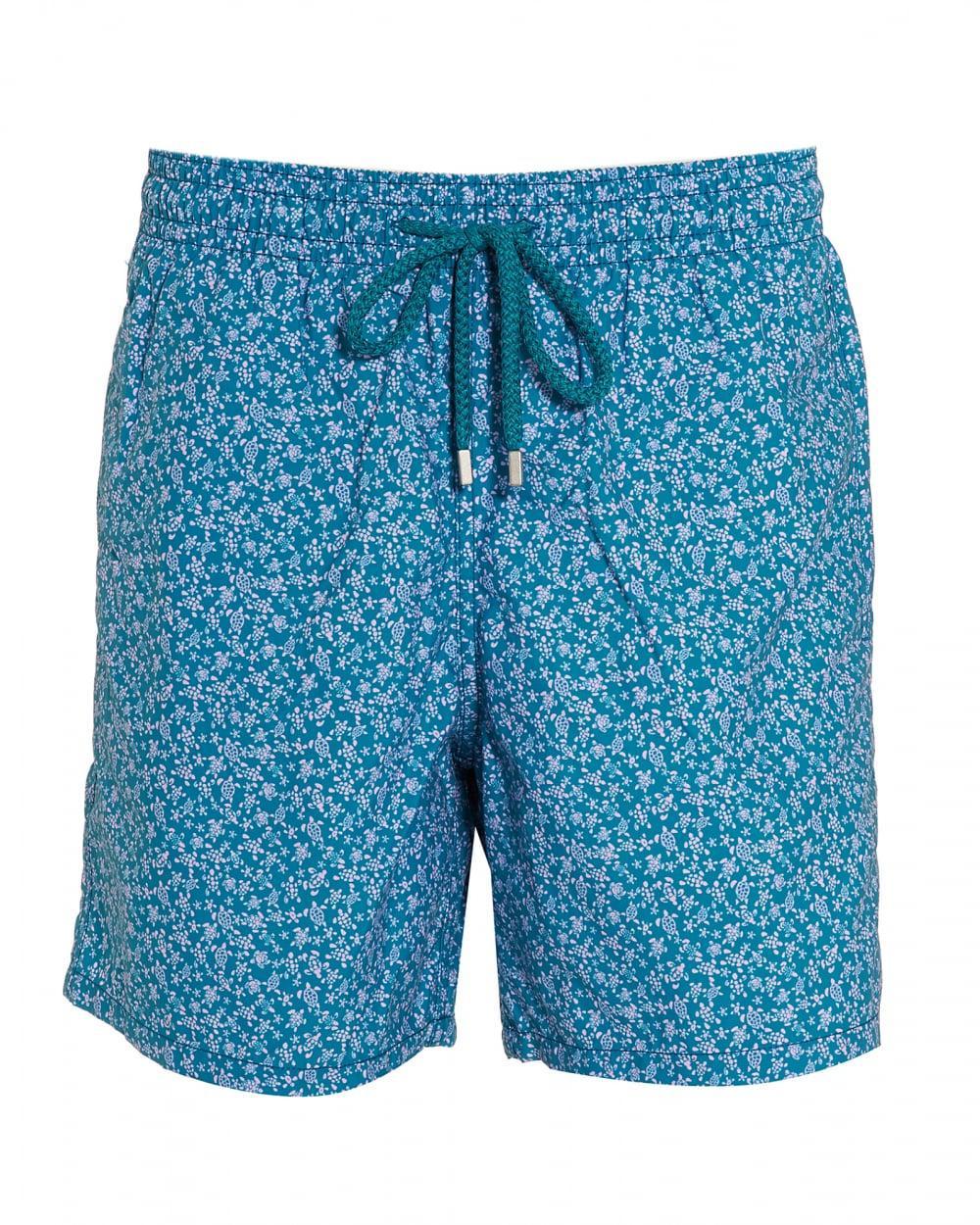 f91480935e Vilebrequin Moorea Micro Turtles-print Swim Shorts in Blue for Men ...