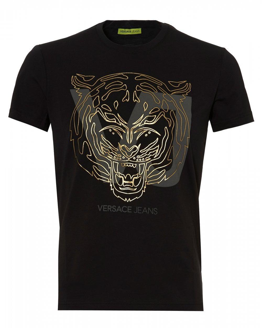 98bc1227b3 Versace Jeans - Black B3gsa72e T Shirt for Men - Lyst. View fullscreen