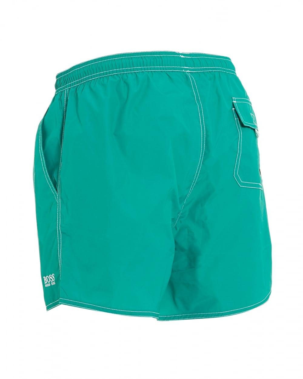 8bd68916b9ea9 Lyst - BOSS Lobster Short Aqua Blue Swim Shorts in Blue for Men
