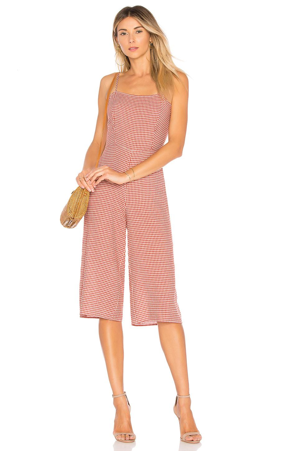 23995849a46b Tularosa Isabeli Jumpsuit in Pink - Lyst