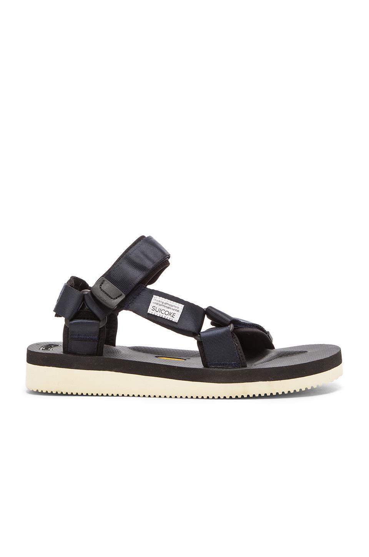 2a498a56652a Suicoke Depa-v2 Sandal in Black for Men - Lyst
