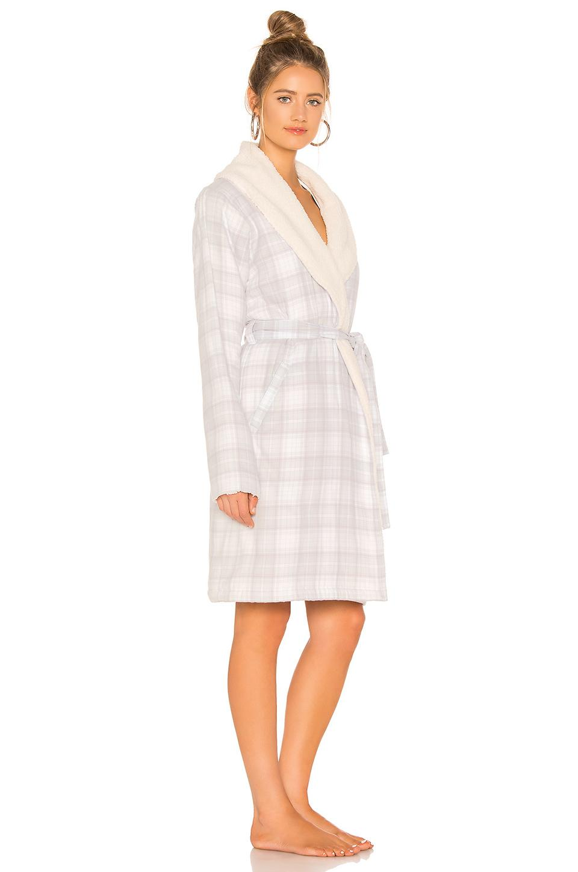 Ugg - White Anika Flannel Robe - Lyst. View fullscreen f331a88e0