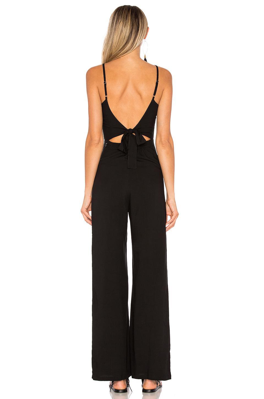 71fa7197b41e Lyst - Indah Piper Jumpsuit in Black