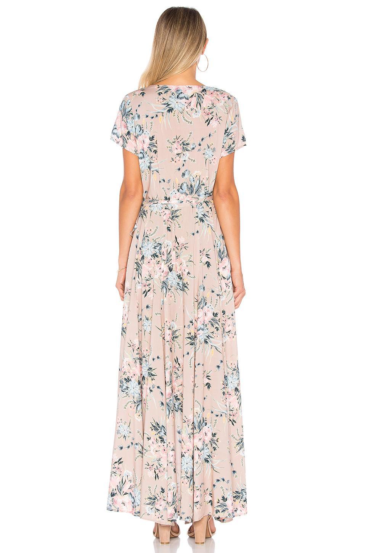 b9cbd90d4199 Auguste Scarlett Wrap Maxi Dress - Lyst