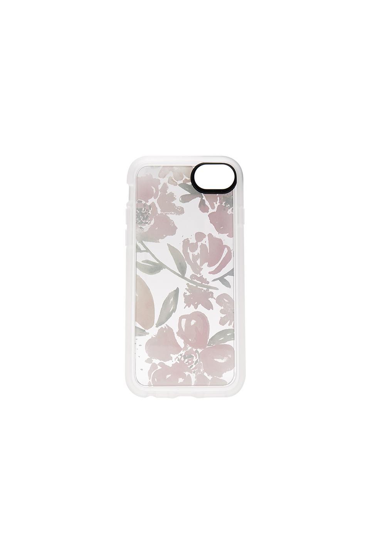 White Floral iPhone 6/7/8 Case in White Casetify 7p2DI6m8