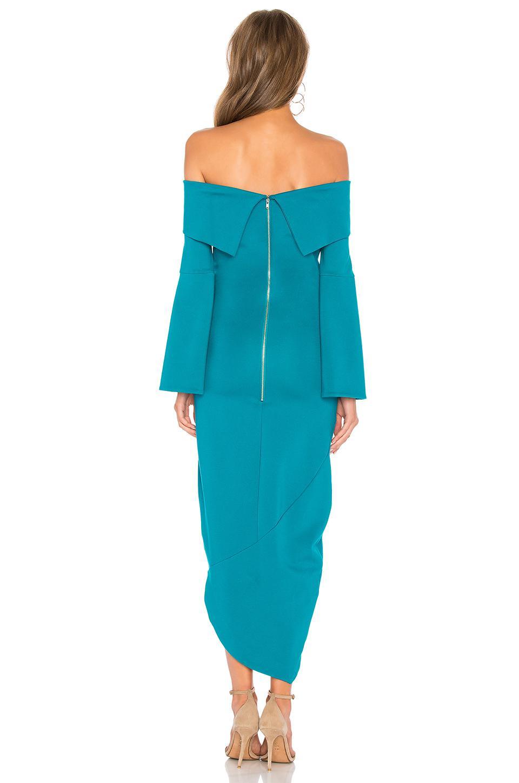 57a27d6a8d54 Lyst - Elliatt Spark Off Shoulder Dress in Blue