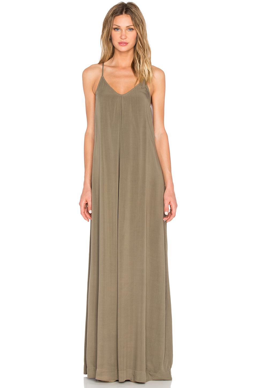201d0cda8a1ac Michael Stars Maxi Slip Dress in Natural - Lyst