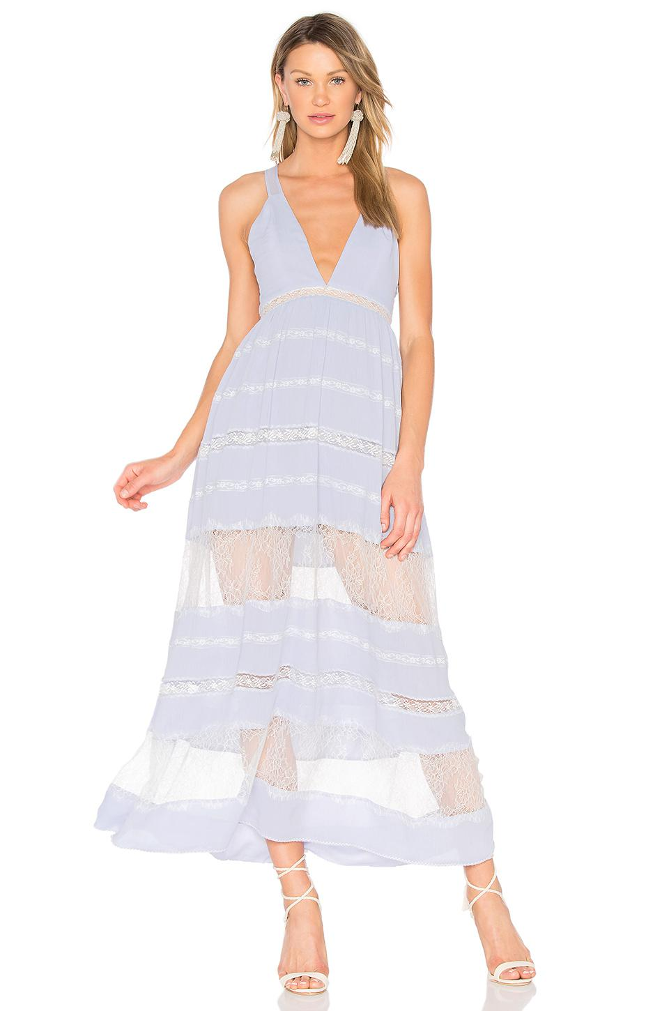 ee62ea236 Lyst - X By NBD Fortune Maxi Dress