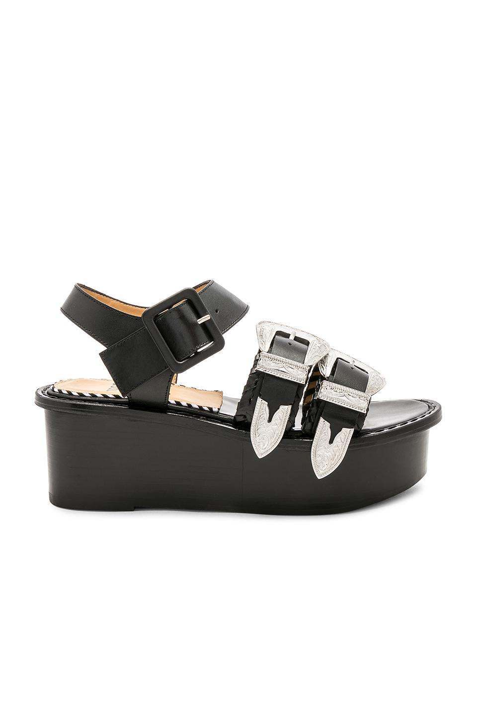crisscross straps sandals - Black Toga Archives KOdSXyOl