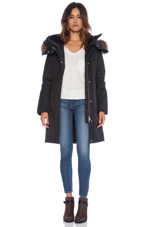 b049c15a7cc84 ... greece lyst mackage kerry jacket with raccoon fur in black 1fcb5 2b5fa
