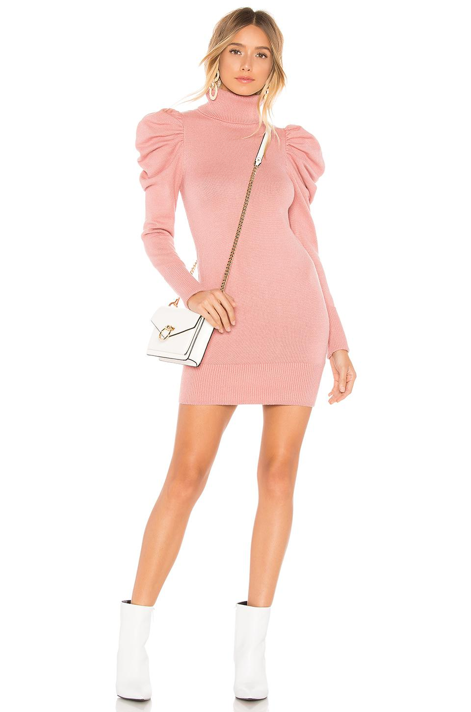 e899b5346a Lyst - Tularosa Marsha Sweater Dress In Rose in Pink