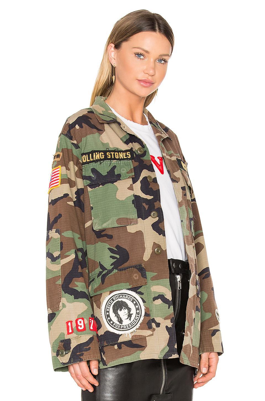 ed408be971364 MadeWorn Rolling Stones Jacket - Lyst