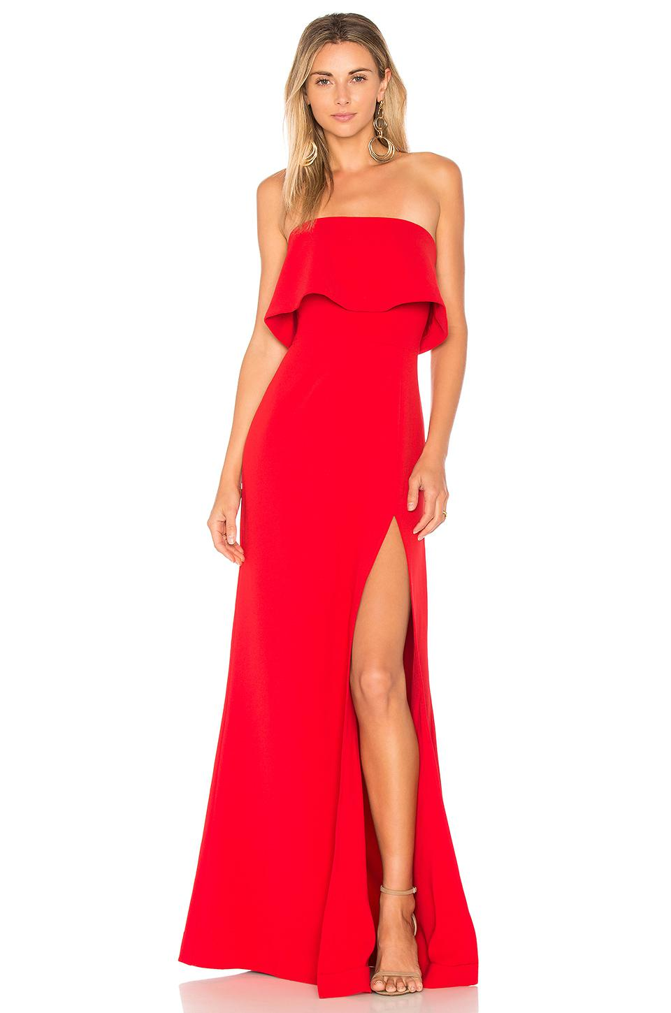 9c943344 Lovers + Friends X Revolve Anzen Gown in Red - Lyst