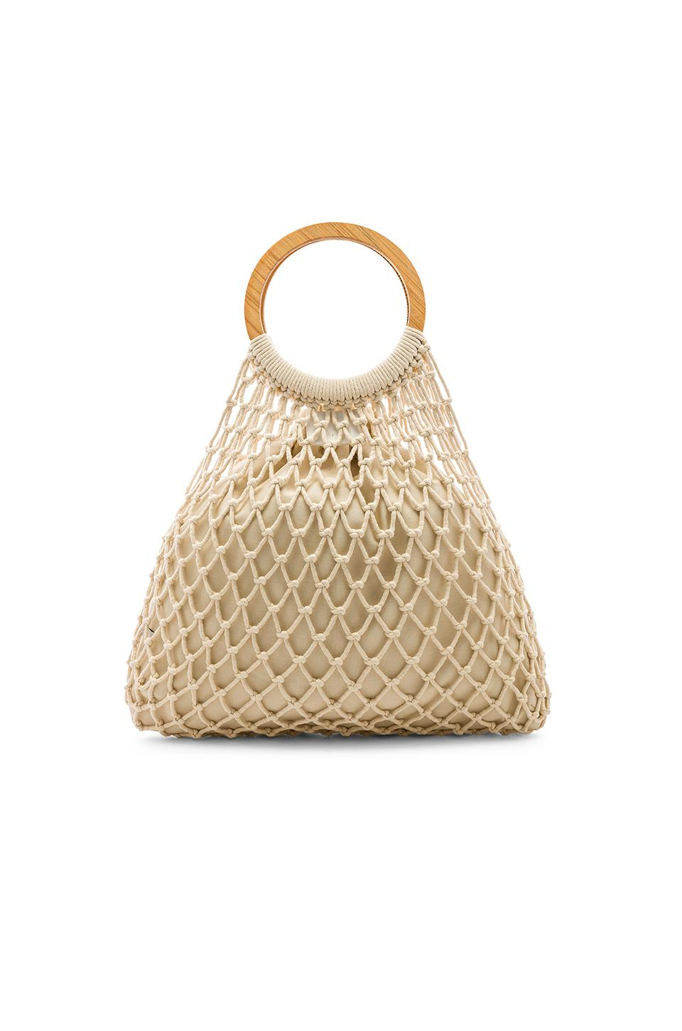 ac460f3e1a075 House of Harlow 1960 X Revolve Miki Tote Bag in Natural - Lyst