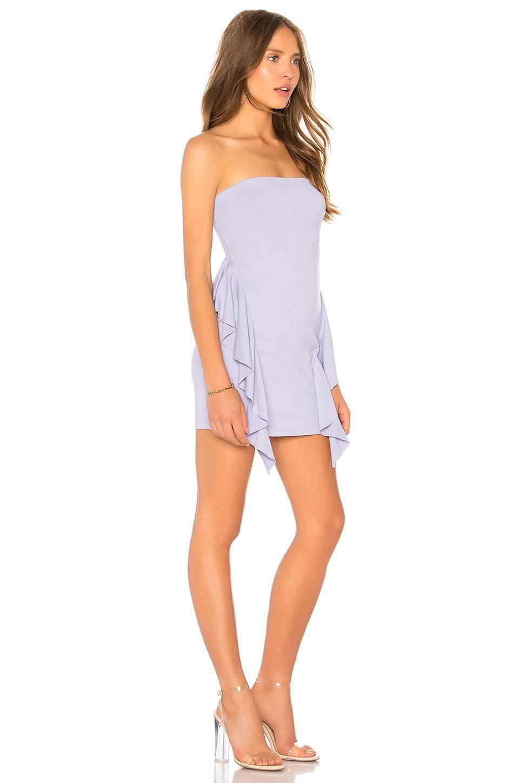 4cafe4356ea2 Susana Monaco - Multicolor Ruffle Strapless 16 Dress - Lyst. View fullscreen