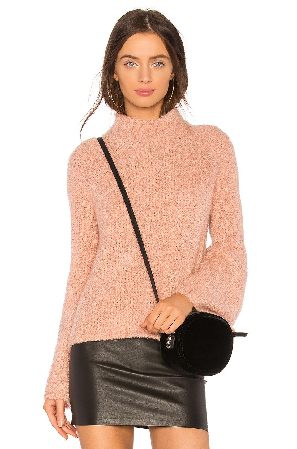 c6d688a7f828 Lyst - Ulla Johnson Amina Turtleneck Knit in Pink
