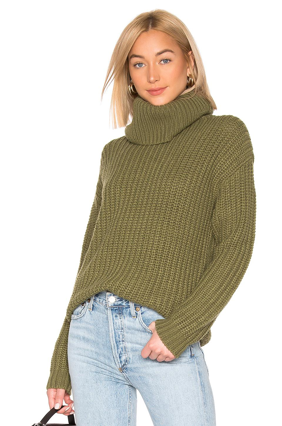 74e788d048e5 Lyst - Lovers + Friends Marlina Sweater in Green