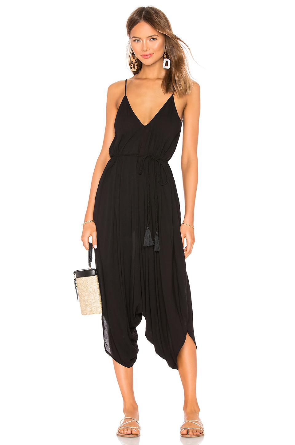 75b39c193544 Lyst - Indah Ivory All In One Jumpsuit in Black
