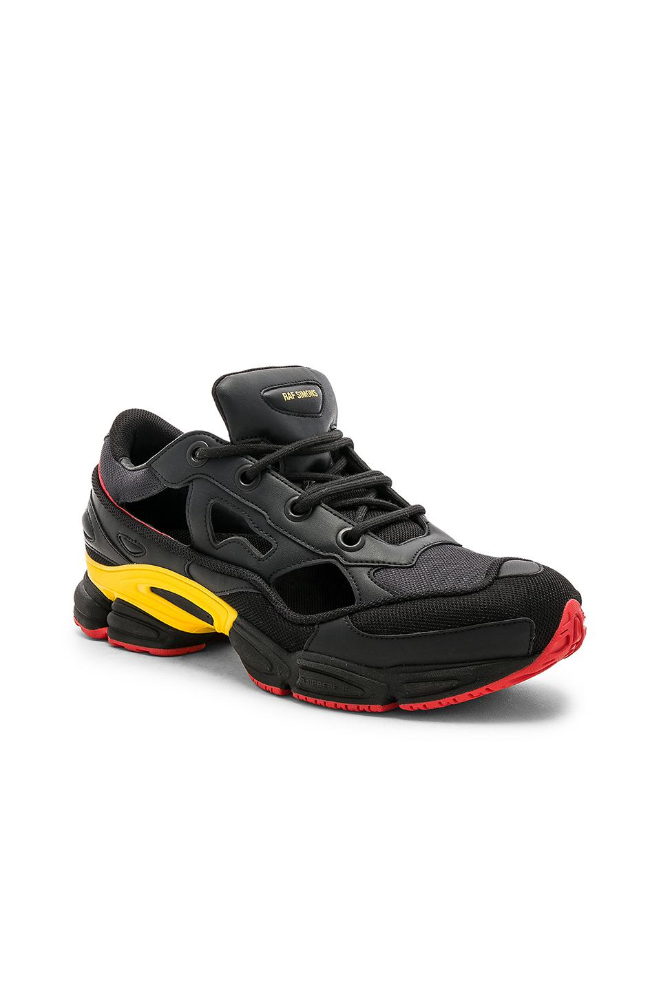 newest b0de5 111cf adidas By Raf Simons. Mens Black Belgium National Day Replicant Ozweego