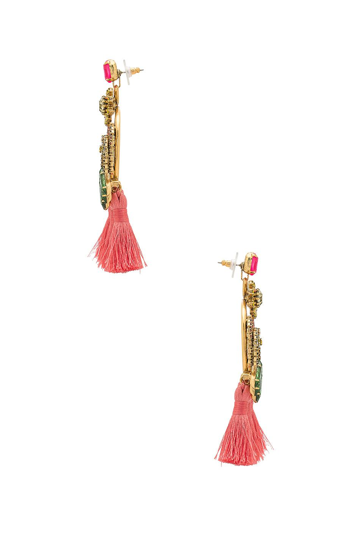 Morton Earrings in Pink Elizabeth Cole kNf7PKSar