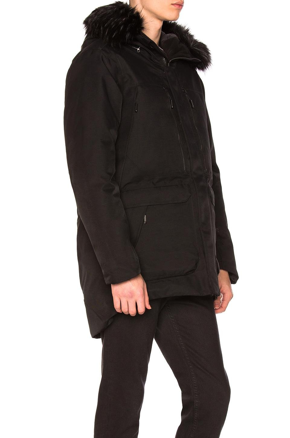 eed78b3524 Lyst - The North Face Cryos Expedition Gtx Parka With Faux Fur Trim ...