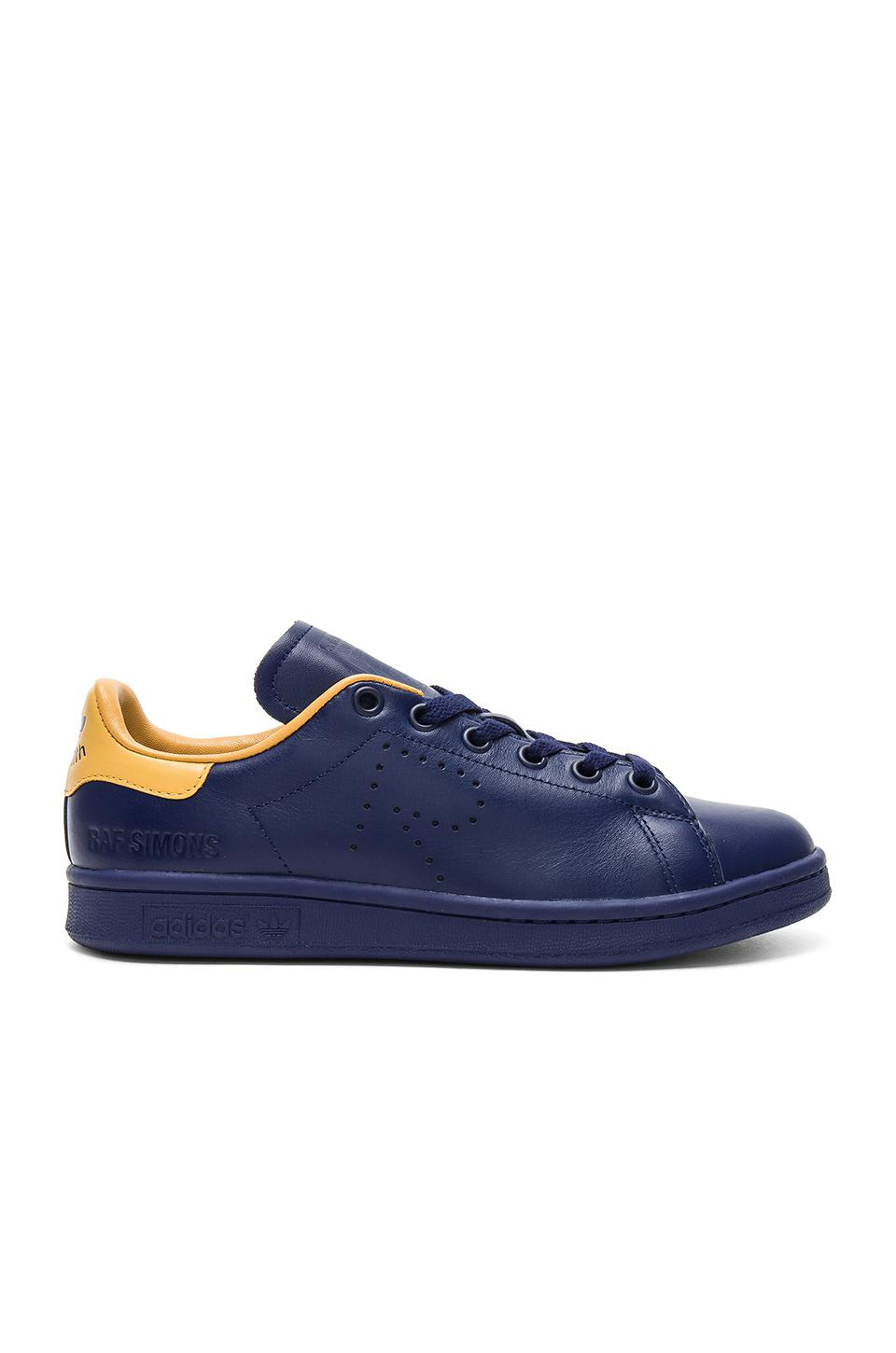 Lyst Adidas By Raf Simons Stan Smith Sneaker In Blue Blue In in Blue for Men fcf5c7