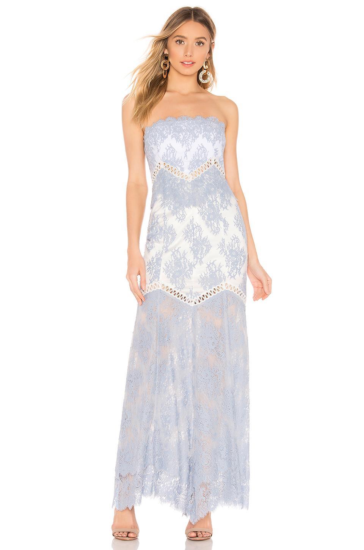 793efbf40de3f6 X By NBD Macie Gown in Blue - Lyst