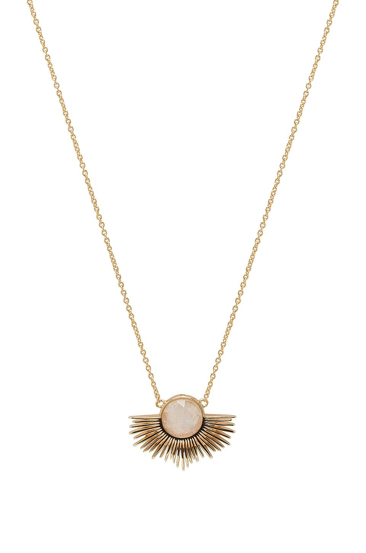 by ARTEMIS Pegasus Necklace in Metallic Gold Melanie Auld 6rKty