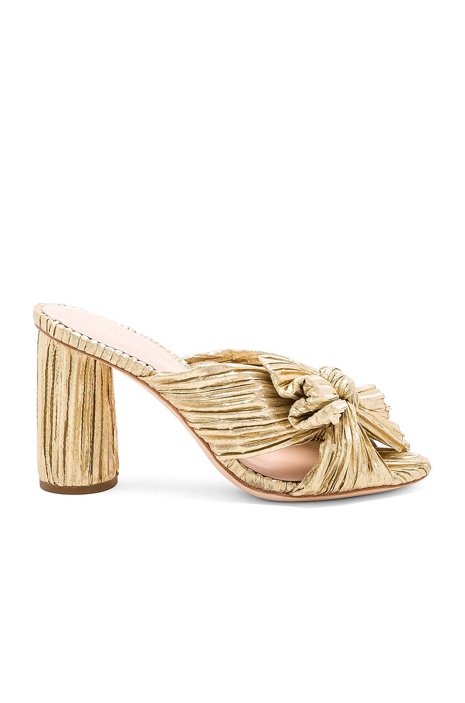 Loeffler Randall Penny Pleated Knotted High Heel Sandals RDYlREz0h