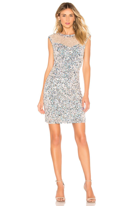 409e66668c Parker Black Montclair Sequin Dress in Natural - Lyst