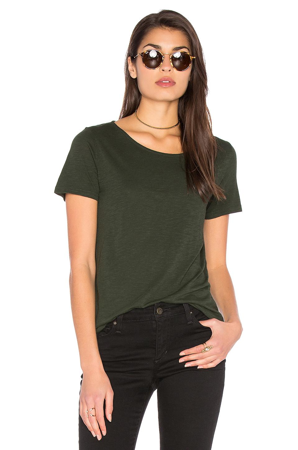 lyst american vintage jacksonville tee in green. Black Bedroom Furniture Sets. Home Design Ideas